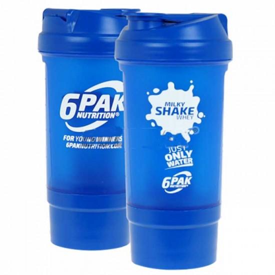 Shaker 500ml 6PAK - Σέικερ Πρωτεΐνης