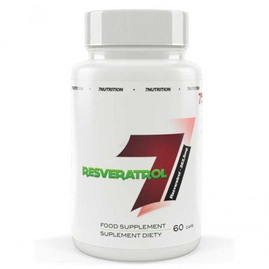 Resveratrol 262,5mg 60 caps - 7Nutrition