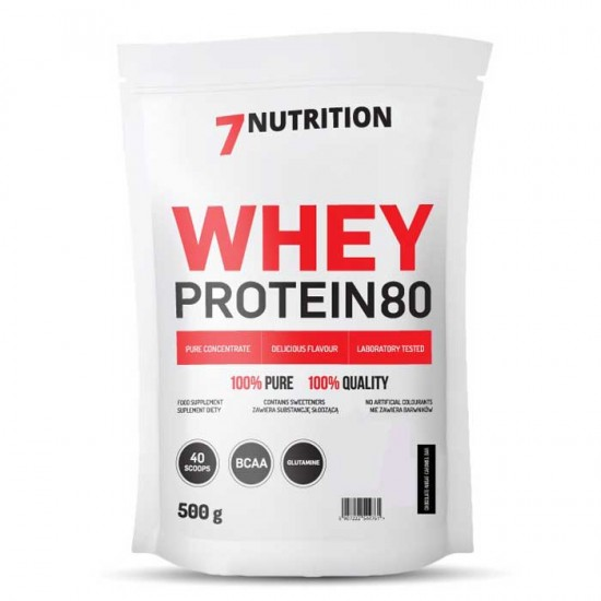 Whey Protein 80 500g - 7Nutrition