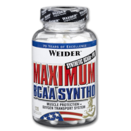Maximum BCAA Syntho Weider Global 120 Κάψουλες / Αμινοξέα
