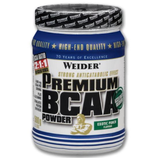 Premium BCAA powder Weider Global 500 gr / Αμινοξέα