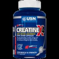 Creatine X4 USN 120 κάψουλες / Κρεατίνη