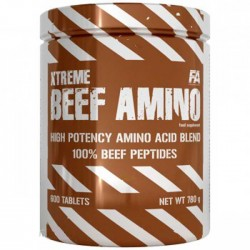 Xtreme Beef Amino 600 ταμπλέτες - Fitness Authority / Αμινοξέα Χάπια