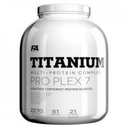 Titanium Pro Plex 7 - 2.27kg - Fitness Authority / Whey Complex