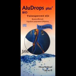 Πόσιμο Υαλουρονικό Οξύ Bio Aludrops Plus Hyaluron 100ml