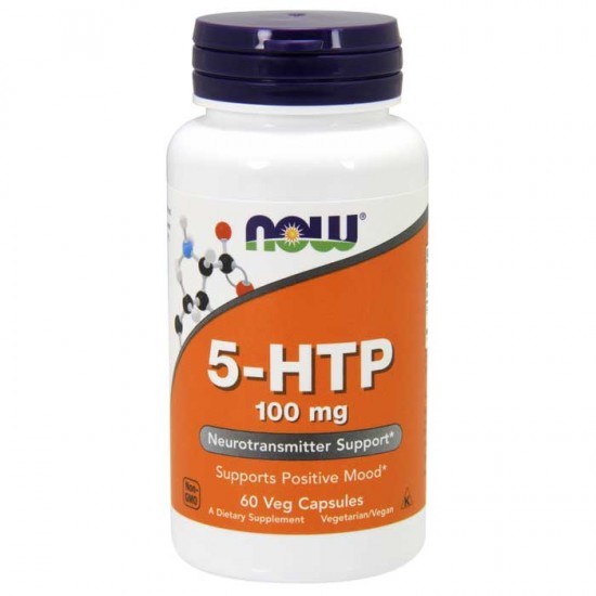 5-HTP 100mg 60 vcaps - Now Foods