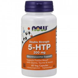 5-HTP 200mg 60 vcaps - Now Foods