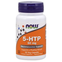 5-HTP 50mg 30 vcaps - Now Foods