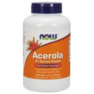 Acerola 4:1 Extract Powder 170γρ Σκόνη Ασερόλας - Now / Βιταμίνες