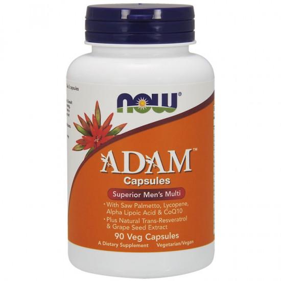Adam Multi Vitamin for Men 90 φυτοκάψουλες - Now / Βιταμίνες