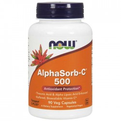 Alphasorb-C 500 90 vcaps - Now Foods