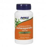 Ashwagandha Extract 450 mg 90Vcaps - Now / Ανοσοποιητικό - Αγιουρβέδα