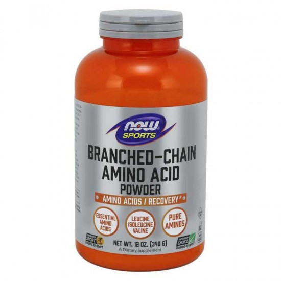 Branched Chain Amino Acid Powder 340gr - Now Sports