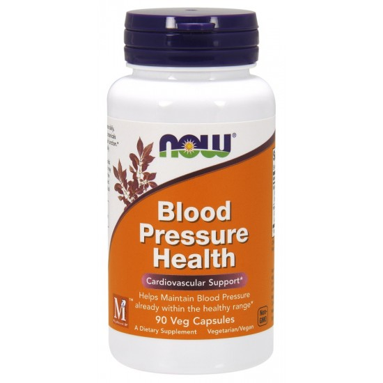 Blood Pressure Health 90 φυτοκάψουλες - Now / Καρδιαγγειακή Λειτουργία