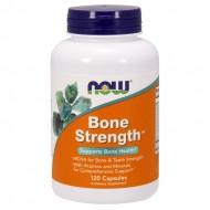 Bone Strength - 120 caps NOW Foods / Μέταλλα για Οστά - Οστική Μάζα
