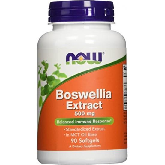 Boswellia Extract 500 mg 90 μαλακές κάψουλες - Now / Αντιφλεγμονώδες - Αρθρώσεις