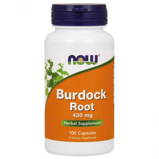 Burdock Root 430mg 100 caps - Now Foods