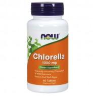 Chlorella 1000mg 60 ταμπλέτες - Now / Φυτικά Συμπληρώματα
