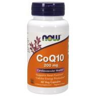 CoQ10 200 mg 60 φυτοκάψουλες - Now / Ένζυμο Q10