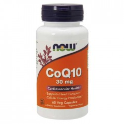 CoQ10, 30mg - 60 vcaps - Now Foods
