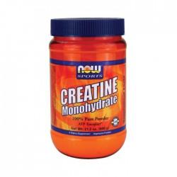 Creatine Monohydrate, 100% Pure Powder - 600 grams NOW Foods / Μονοϋδρική Κρεατίνη