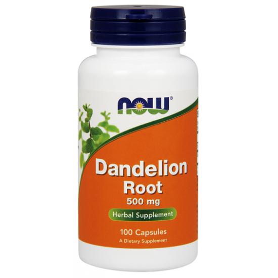 Dandelion Root 500 mg 100 κάψουλες - Now / Πικραλίδα Ειδικά Προϊόντα