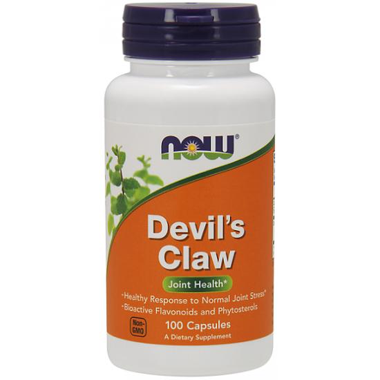 Devil's Claw 500mg 100 κάψουλες Αρπαγόφυτο Αρθρώσεις - Now / Ειδικά Συμπληρώματα