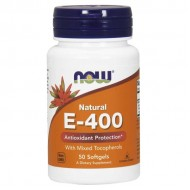 Vitamin E-400 IU MT 50 Softgels - Now Foods / Αντιοξειδωτικό