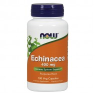 Echinacea 400mg - 100caps NOW Foods / Εχινάκεια - Κρυολόγημα