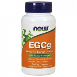 EGCg Green Tea Extract, 400mg - 90 caps - Now / Λιποδιαλύτης