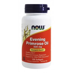 Evening Primrose Oil 500mg 100 μαλακά τζελ - NOW / Γυναικεία Υγεία - Νυχτολούλουδο