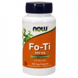 Fo-Ti 560 mg 100 vcaps - NOW / Βοτανοθεραπεία