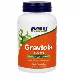 Graviola 500mg - 100 caps NOW Foods / Γκραβιόλα