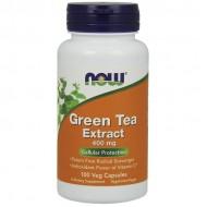 Green Tea Extract, 400mg - 100 caps - Now / Λιποδιαλύτης