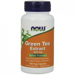 Green Tea Extract, 400mg - 100 caps - Now / Λιποδιαλύτης