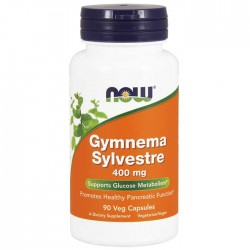 Gymnema Sylvestre 400mg 90 vcaps - Now Foods
