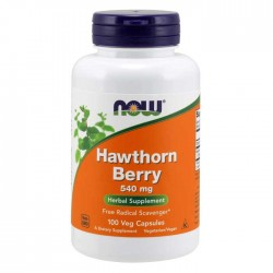 Hawthorn Berry 540 mg 100 caps - Now Foods