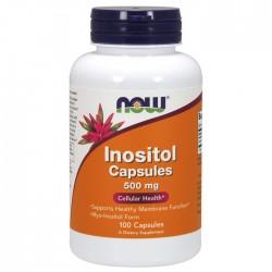 Inositol 500mg 100 κάψουλες - Now  / Βιταμίνες