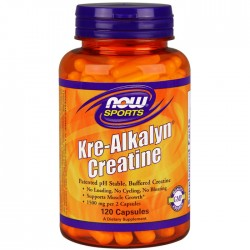 Kre-Alkalyn Creatine - 120 caps - Now / Κρεατίνη