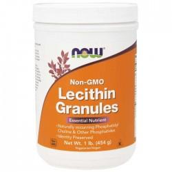 Lecithin Granules NON GMO 454γρ Λεκιθίνη Σκόνη - NOW / Λιποδιαλύτης