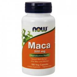 Maca 500mg 100 φυτοκάψουλες - Now / Σεξουαλική Υγεία