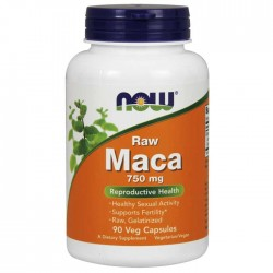 Maca 750mg 90 φυτοκάψουλες - Now / Σεξουαλική Υγεία