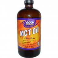 MCT Oil 100% Pure 946ml - Now / Λιπαρά Οξέα