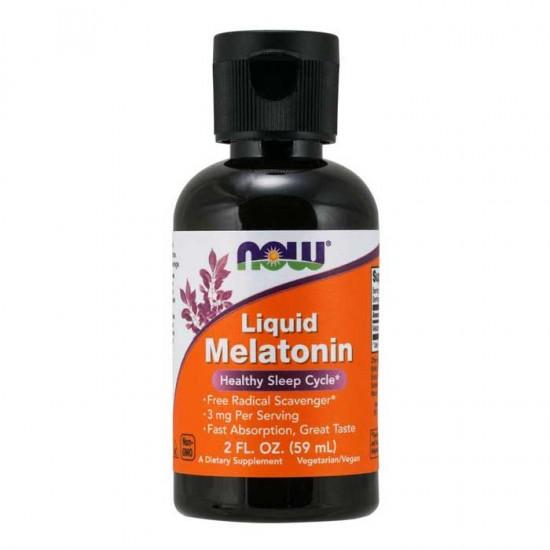 Melatonin 3mg Liquid 59ml - Now Foods