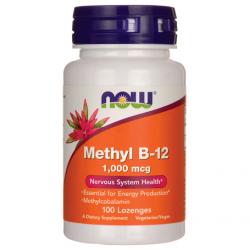 Methyl B-12 1.000 mcg 100 παστίλιες Lozenges - Now / Βιταμίνη