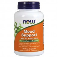 Mood Support with St. John's Wort - 90 vcaps - Now / Ψυχική Διάθεση