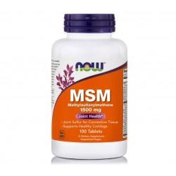 MSM 1500mg Joint Health 100 ταμπλέτες - NOW / Αρθρώσεις