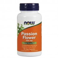 Passion Flower Extract 350 mg 90 vcaps - Now Foods