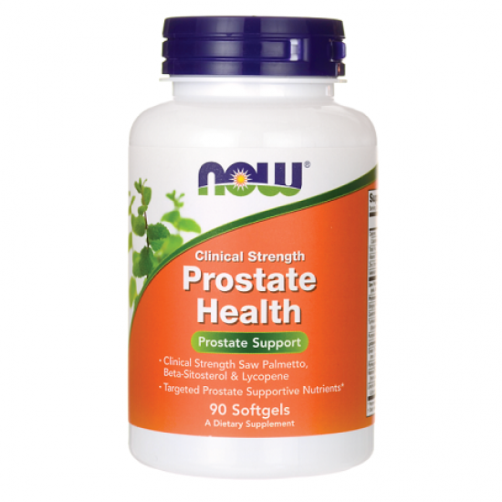 Prostate Health Support Clinical Strength 90 μαλακές κάψουλες - Now / Προστάτης - Ουροποιητικό