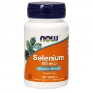 Selenium 100mcg 100 ταμπλέτες - Now / Σελήνιο - Μέταλλα